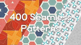 400 Seamless Patterns